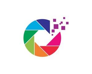 Pixel art design Logo