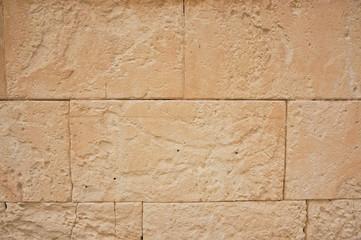 ancient church wall in spain
