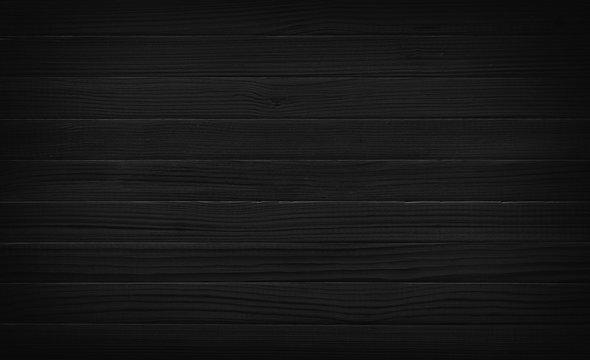 Black wood plank texture
