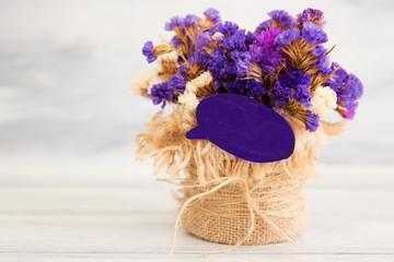 image of spring lilac violet flowers, ultraviolet 2018 trend