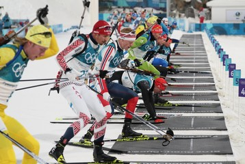 Olympics: Biathlon-Mens 15km Mass Start