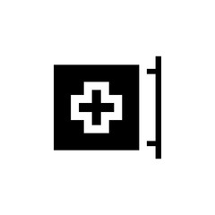 hospital sign icon. Element of medicine icon. Premium quality graphic design. Signs, outline symbols collection icon for websites, web design, mobile app