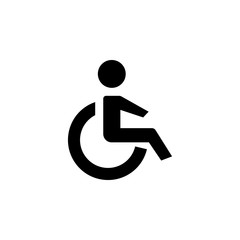 disabled icon. Element of medicine icon. Premium quality graphic design. Signs, outline symbols collection icon for websites, web design, mobile app