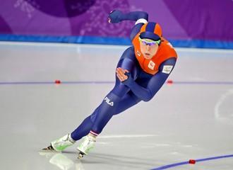 Olympics: Speed Skating