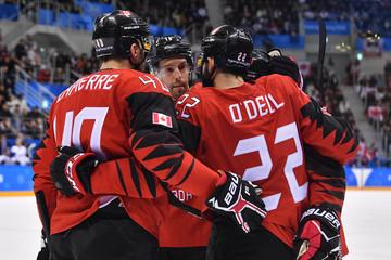 Olympics: Ice Hockey-Men Team Group A - CAN-KOR