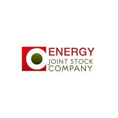 Creative logo for energy joint stock company.