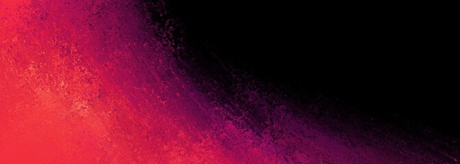 black background with pink orange and purple color splash border design in dramatic bold painted texture
