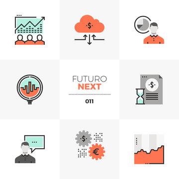 Stock Market Futuro Next Icons