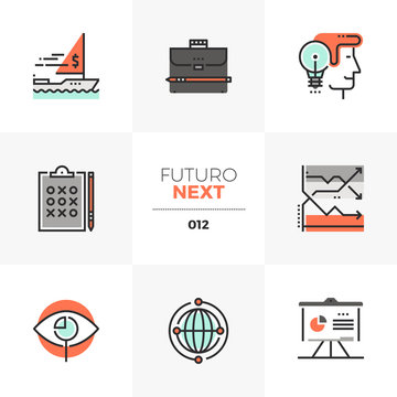 Investment Strategy Futuro Next Icons