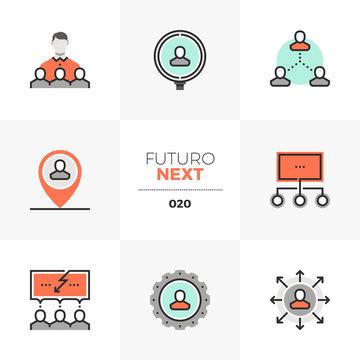 Human Resources Futuro Next Icons