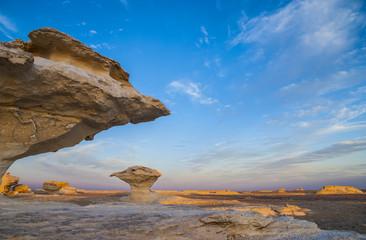 エジプト西方の白砂漠 Wall mural