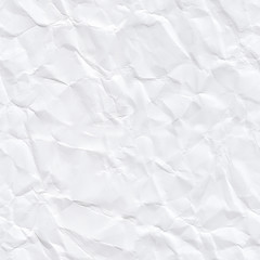 Crumpled paper seamless. Seamless pattern with a crumpled paper texture.