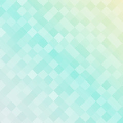Abstract soft blue color square pattern, Squares mosaic background.