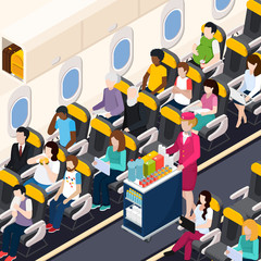 Airplane Passengers Composition
