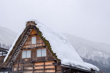 雪の白川郷 世界遺産(岐阜県)