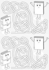 Little books maze