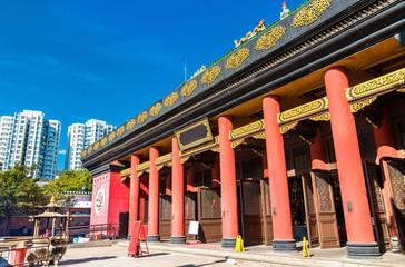Che Kung Miu Temple in Hong Kong, China