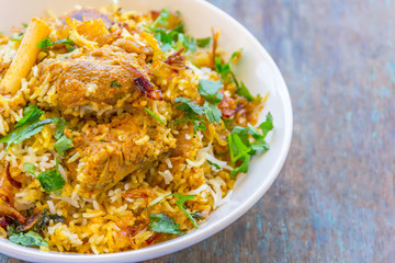 Mutton Biryani - Indian Rice and Meat Dish