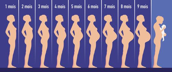 enceinte - grossesse - femme enceinte - maternité - naissance - bébé - accouchement - femme