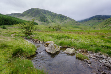 Small stream in Lake District