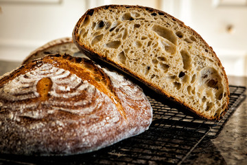 In de dag Brood Delicious homemade sourdough baked bread