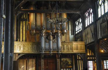 Eglise Saint-Catherine / Orgue / Honfleur Fotomurales