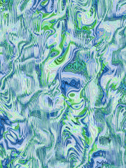 abstract wild green and blue background