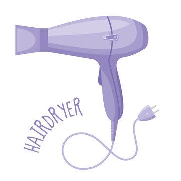 Hairdryer vector illustration