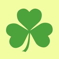 Simple Shamrock Icon