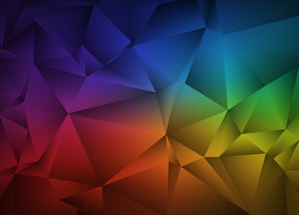 Abstract polygonal background. Triangular geometric pattern. Vector illustration