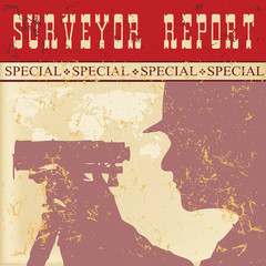 Poster report of surveyor