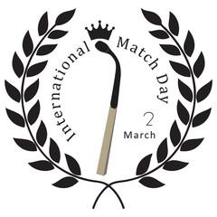 Symbolic veneration of the match