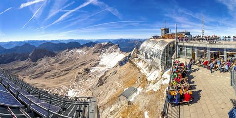 Zugspitze, Panorama  Wall mural