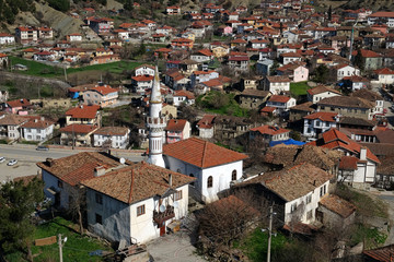 Traditional Ottoman houses in Tarakli, Turkey
