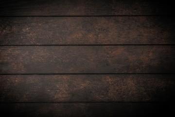Fotoväggar - Dark wood background