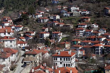Ottoman architecture Goynuk Homes in Bolu, Turkey