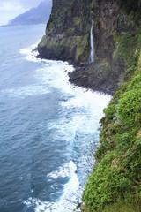 View above Bridal Veil Waterfall Seixal