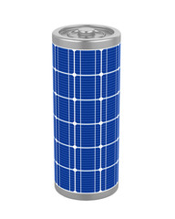 Solar Battery Isolated