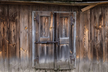 The old wooden door - grunge background texture for design