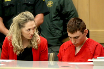 Cruz appears in court for a status hearing in Fort Lauderdale