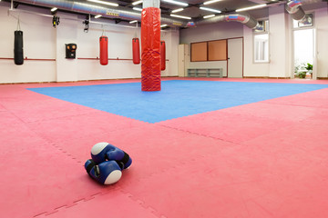 Image of boxing sporty gym