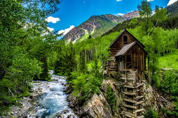 Crystal Mill in Colorado