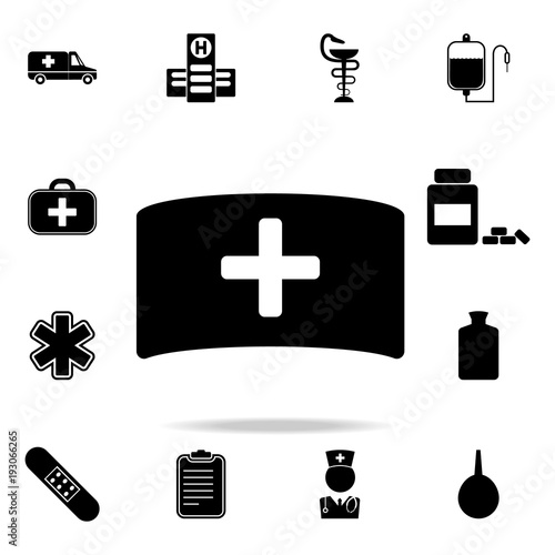 Nurse Hat Icon Set Of Medecine And Hospital Icons Premium Quality