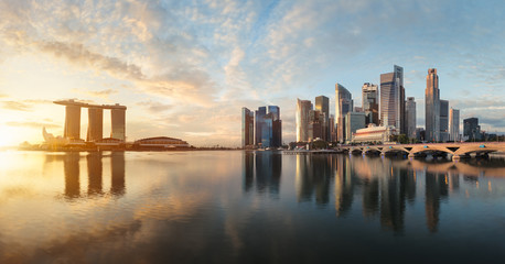 Wall Mural - Singapour panorama
