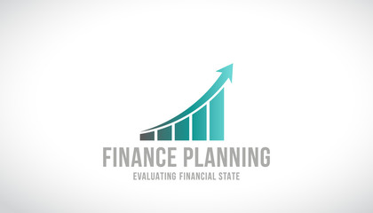Finance Planning Logo Vector Design