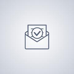 envelope icon; email icon