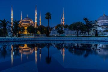 Sultanahmet Mosque at dawn