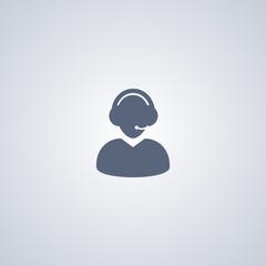 Consultation icon, operator icon