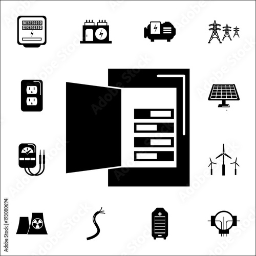 Multimeter Icon Set Of Energy Icons Premium Quality Graphic Design