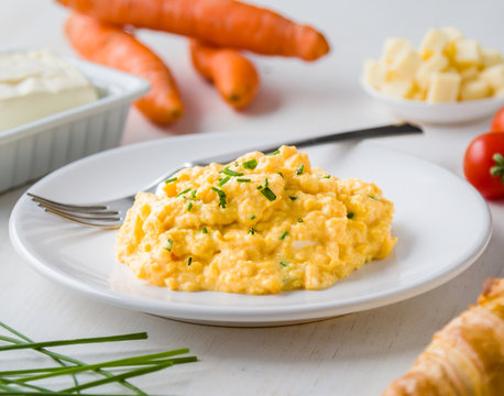 tasty scrambled eggs